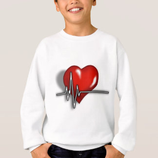 Heart ECG Sweatshirt