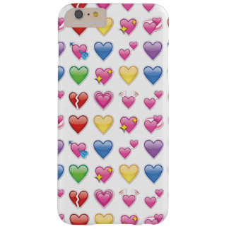 Heart emoji barely there iPhone 6 plus case