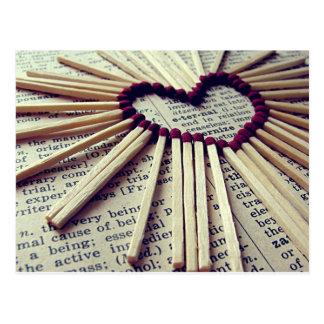 Heart Eternal Love Postcard