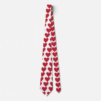 Heart felt feelings tie