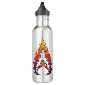 Heart Fire : Steel Water Bottle