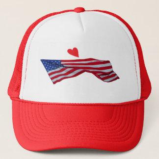 HEART FLAG HAT