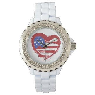 heart flag watch