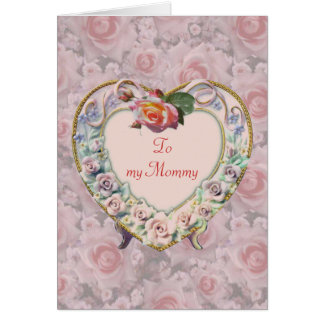 Heart Frame Mother's Day Card