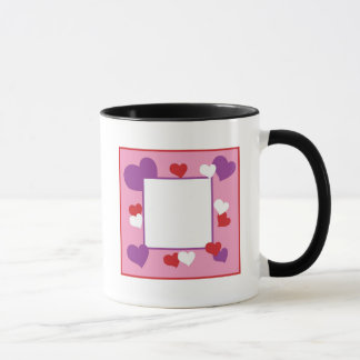 Heart Frame Mug