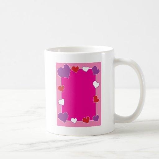 Heart Frame Coffee Mug