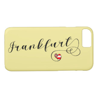 Heart Frankfurt Mobile Phone Case, Germany iPhone 8/7 Case