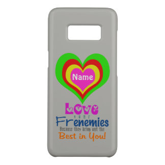 Heart Frenemies CHANGE COLOR (Options) - Case-Mate Samsung Galaxy S8 Case