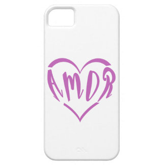 Heart full of Amor iPhone 5 Cover