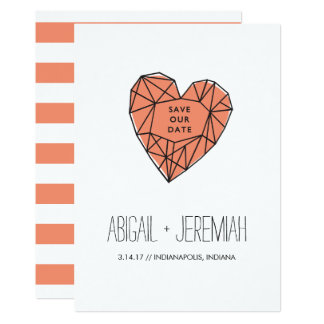 Heart Gem Card