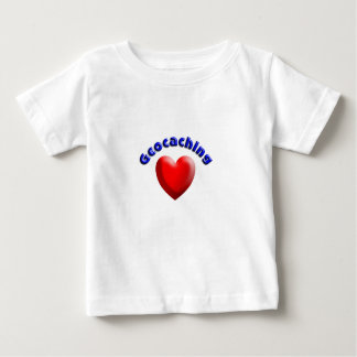 Heart geocaching baby T-Shirt