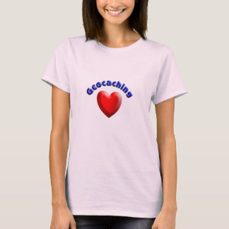 Heart geocaching T-Shirt