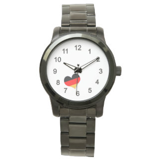 Heart - Germany colors Watch