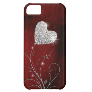 heart girly lovely red iPhone 5C covers