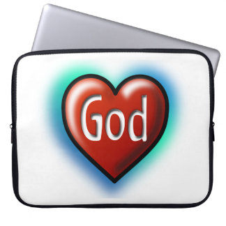 Heart God 15-inch laptop case