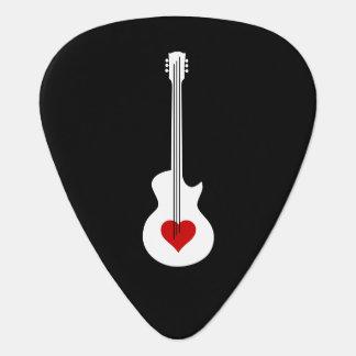 Heart Guitar Guitar Pick