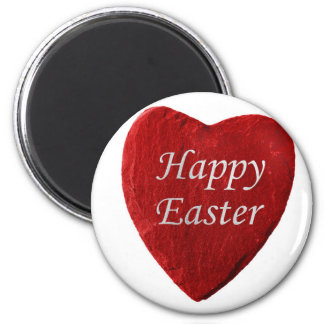 Heart happy Easter Magnet