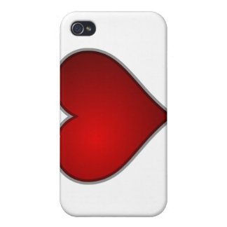 Heart Hard Shell Case for iPhone 4 4S