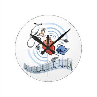 Heart Health Round Clock