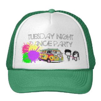 heart, Hippie-13, paintsplatter, TUESDAY NIGHTD... Trucker Hat
