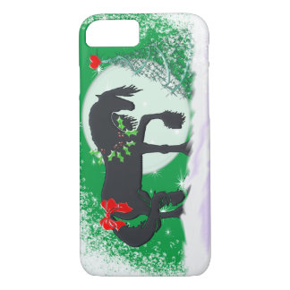 Heart Horses VI (Holiday Tree) iPhone 7 Case