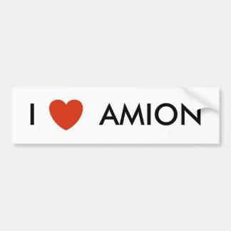 heart, I       AMION Bumper Sticker