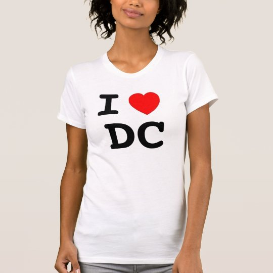 heart, I, DC T-Shirt