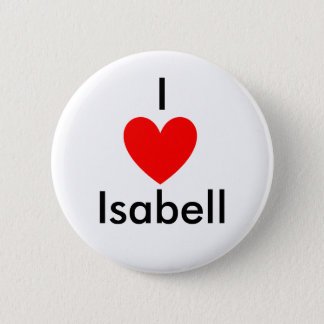 Heart, I , Isabell 2 Inch Round Button