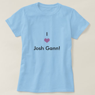 Heart, I, Josh Gann! T-Shirt