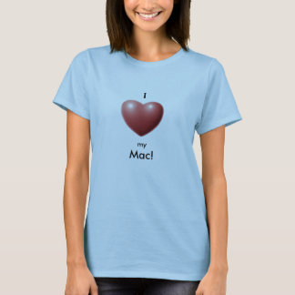 Heart, I, my, Mac! T-Shirt