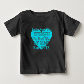 Heart/I Never Knew...Aunt...P.O.T.S. Baby T-Shirt