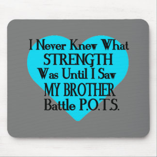 Heart/I Never Knew...Brother...P.O.T.S. Mouse Pad