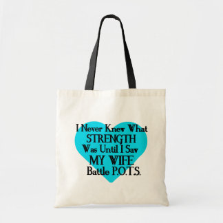 Heart/I Never Knew...Wife...P.O.T.S. Tote Bag