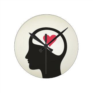 Heart in a head clocks