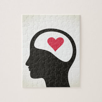 Heart in a head puzzle