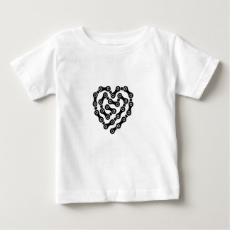 Heart in chains baby T-Shirt