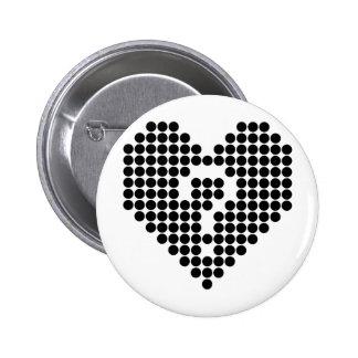 Heart in Doubt 2 Inch Round Button