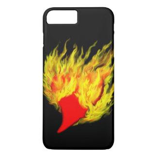 Heart in flames iPhone 8 plus/7 plus case