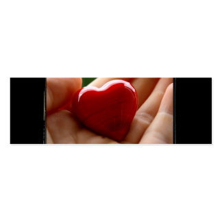 Heart in Hand - Mother's Day Pack Of Skinny Business Cards