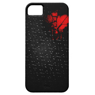 Heart İn Lost Puzzle iPhone 5 Cover