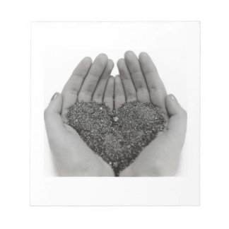 Heart in my Hands Notepad