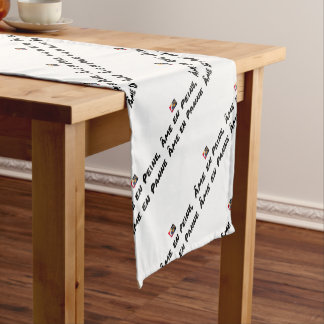 HEART IN SORROW, Broken down HEART - Word games Short Table Runner