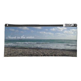 Heart in the water, toes in the sand pencil case
