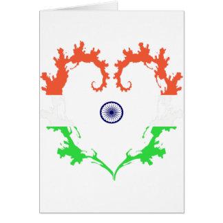 heart-india card