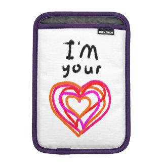 Heart iPad Mini Sleeves