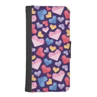 Heart iPhone SE/5/5s Wallet Case