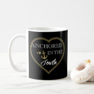 Heart is Anchored in the South Mug