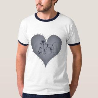 Heart Jack Russel T-Shirt
