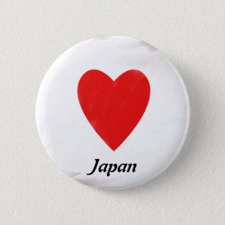 Heart Japan 2 Inch Round Button