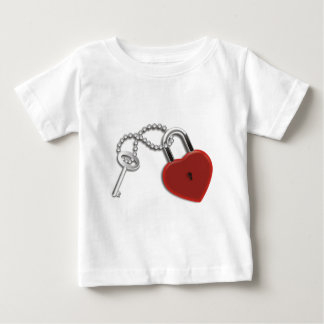 Heart Key And Lock Shirt